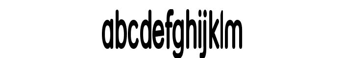 Street Bold  SuperThin Font LOWERCASE
