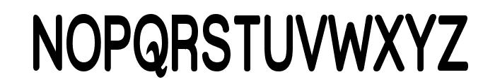 Street Bold  Thin Font UPPERCASE