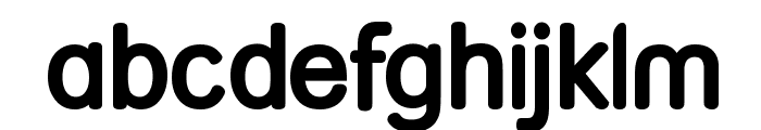 Street Bold Font LOWERCASE