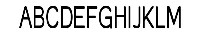 Street Corner Narrow Font UPPERCASE