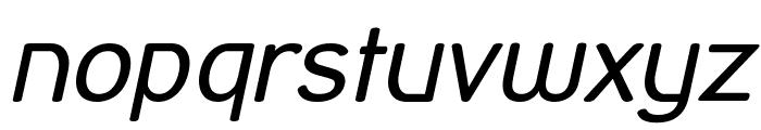 Street Corner Oblique Font LOWERCASE