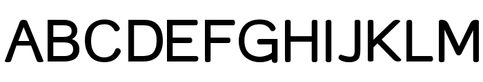 Street Corner SemiBold Font UPPERCASE