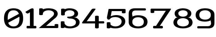 Street Corner Slab Extend Font OTHER CHARS