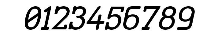 Street Corner Slab Oblique Font OTHER CHARS