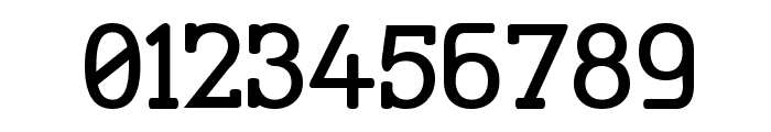 Street Corner Slab SemiBold Font OTHER CHARS