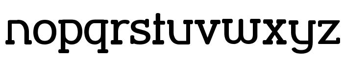 Street Corner Slab SemiBold Font LOWERCASE