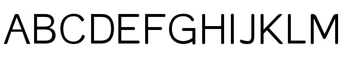 Street Corner Thin Font UPPERCASE