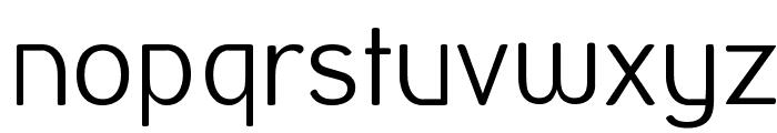 Street Corner Thin Font LOWERCASE