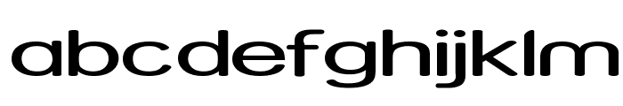 Street - Expanded Font LOWERCASE