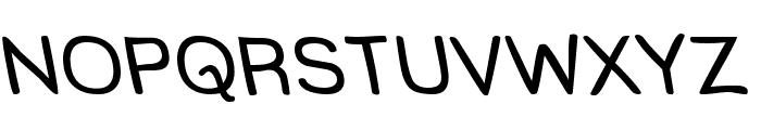 Street Freehand - Rev Font UPPERCASE