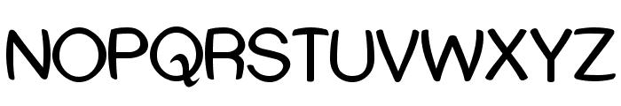 Street Humouresque Font UPPERCASE