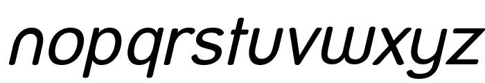 Street Italic Font LOWERCASE