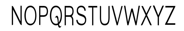 Street  Light Thin Font UPPERCASE