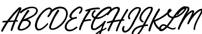 Street Magic Font UPPERCASE