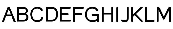 Street - Plain Font UPPERCASE