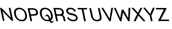 Street - Reverse Italic Font UPPERCASE