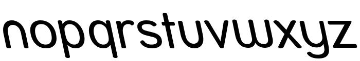 Street - Reverse Italic Font LOWERCASE