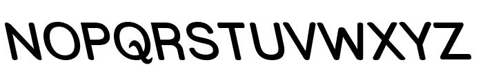 Street  SemiBold Rev Font UPPERCASE