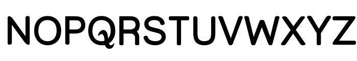 Street  SemiBold Font UPPERCASE