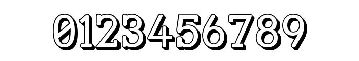 Street Slab - 3D Font OTHER CHARS