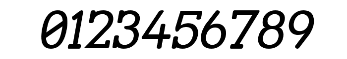 Street Slab Italic Font OTHER CHARS