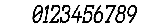 Street Slab - Narrow Italic Font OTHER CHARS