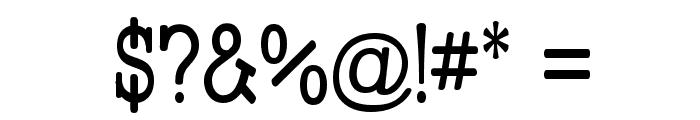 Street Slab - Narrow Font OTHER CHARS