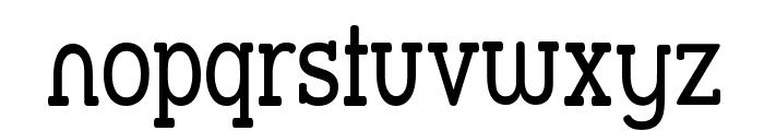 Street Slab - Narrow Font LOWERCASE