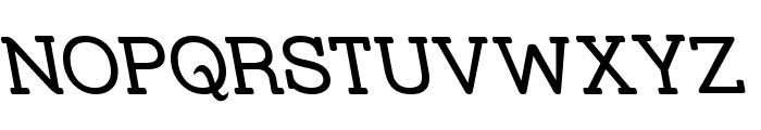 Street Slab - Rev Font UPPERCASE