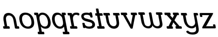Street Slab - Rev Font LOWERCASE
