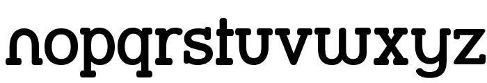 Street Slab SemiBold Font LOWERCASE