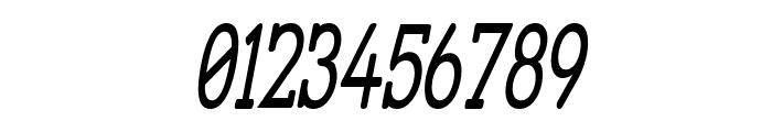 Street Slab - Super Narrow Italic Font OTHER CHARS