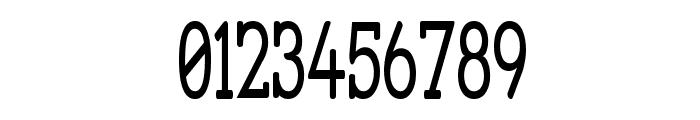 Street Slab - Super Narrow Font OTHER CHARS