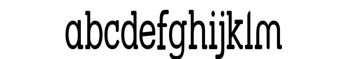 Street Slab - Super Narrow Font LOWERCASE
