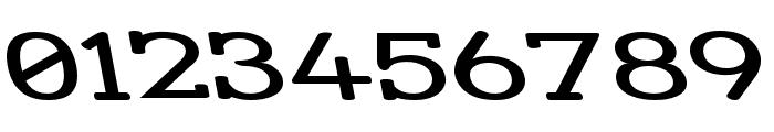 Street Slab - Super Wide Rev Font OTHER CHARS
