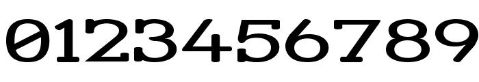 Street Slab - Super Wide Font OTHER CHARS