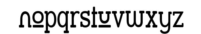Street Slab Upper - Narrow Font LOWERCASE