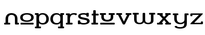Street Slab Upper - Wide Font LOWERCASE