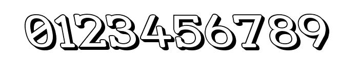 Street Slab - Wide 3D Rev Font OTHER CHARS