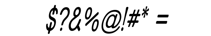 Street - Thin Italic Font OTHER CHARS
