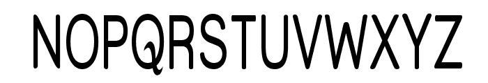 Street - Thin Font UPPERCASE