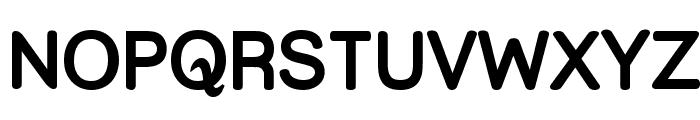 Street  Upper Bold Font UPPERCASE