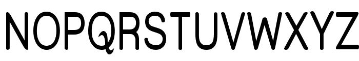 Street Upper - Narrow Font UPPERCASE