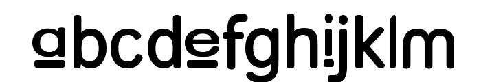 Street  Upper SemiBold Font LOWERCASE
