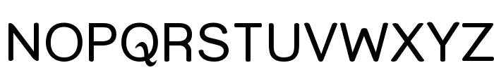 Street - Upper Font UPPERCASE