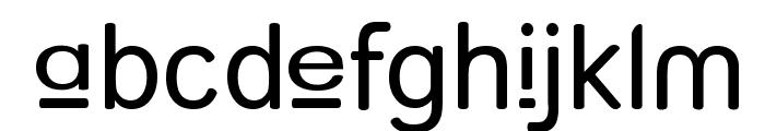 Street - Upper Font LOWERCASE