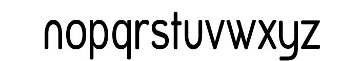 Street Variation - Narrow Font LOWERCASE