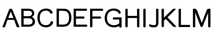 Street Variation Font UPPERCASE