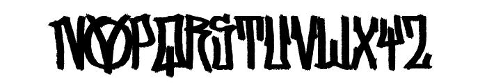 Street Vendetta [Demo] Font UPPERCASE