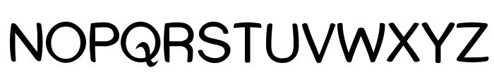 Street Warped Font UPPERCASE